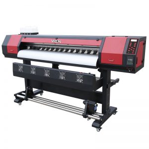 1.8m 6ft 1440dpi eco solvent media dtg garment printer WER-ES1902
