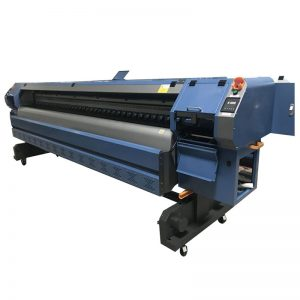3.2m Konica 512i printhead digital vinyl flex banner solvent printer/plotter/printing machine WER-K3204I