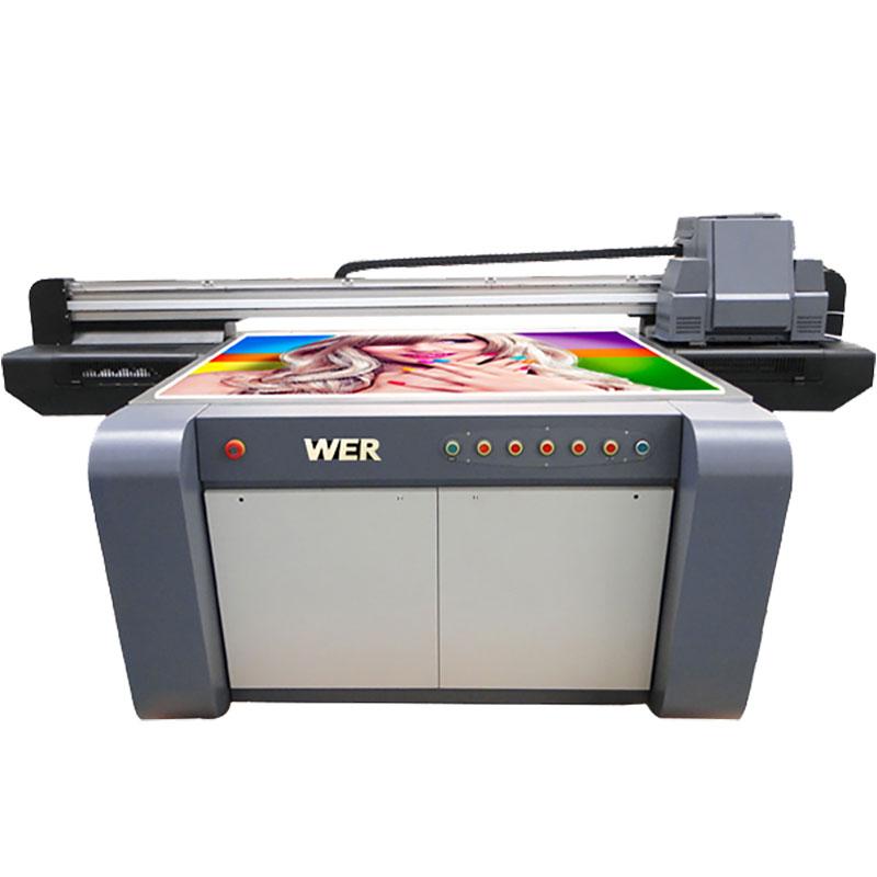 3D effect UV flatbed printer, ceramics printer, tiles printing machine in China WER-EF1310UV