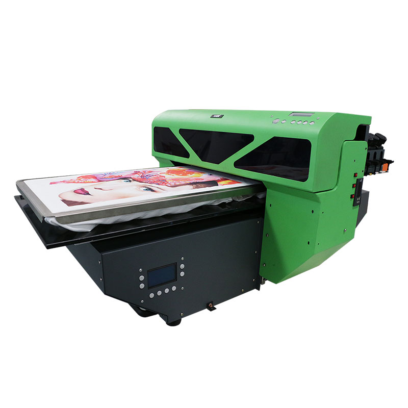 A2 size digital DTG T-shirt printer flatbed printer 8 color DX5 printer head WER-D4880T