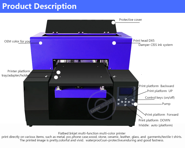 A3-130 A3 Ink-jet direct to Garments T-shirt Printer price