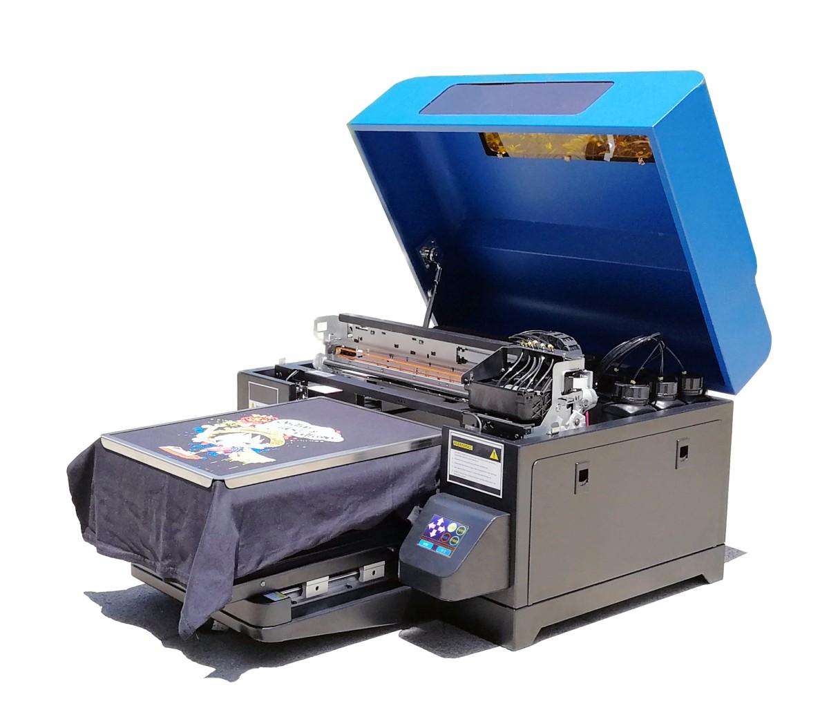A3 DTG цифров мастиленоструен принтер за тениски, насочен към машина за печат на дрехи