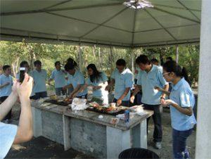 BBQ in Gucun Park, Autumn 2014