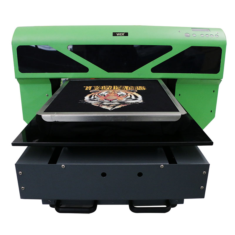 China Manufacturer small t-shirt printing machine direct to garment printer dtg a2 a3 WER-D4880T