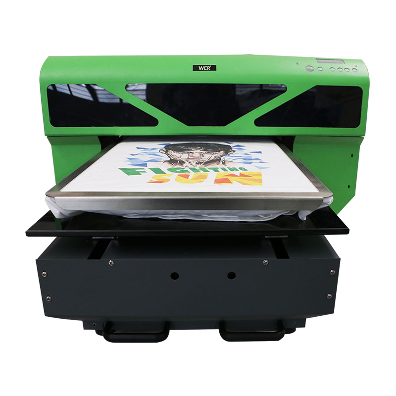 Digital TPF technology textile cheap direct to garment printer WER-D4880T