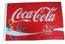 Flag Cloth banner printed by 1.6m (5 feet) eco solvent printer WER-ES160 3