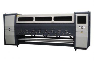 Good quality K3404I / K3408I Solvent Printer 3.4m heavy duty inkjet printer