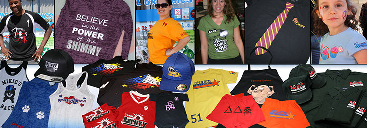 One-stop custom apparel printing solution