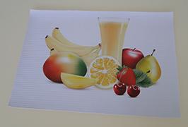 PVC banner printed by 3.2m (10 feet) eco solvent printer WER-ES3201
