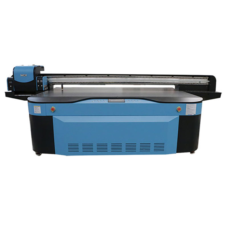 UV digital flatbed printing machine large format 2500X1300 WER-G2513UV