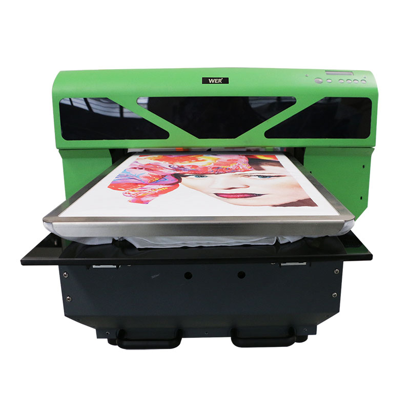 A2 size DTG direct to garment printer t shirt printing machine WER-D4880T