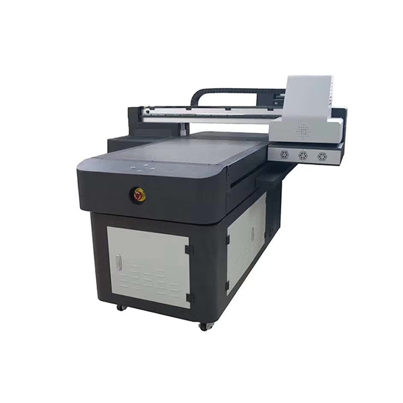 WER-ED6090UV large format multifunction digital inkjet plastic 3D ceramic tile UV printer