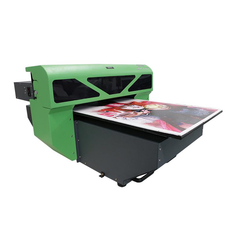 outomatiese inkjet drukker, persoonlike t-shirt druk masjien WER-D4880UV