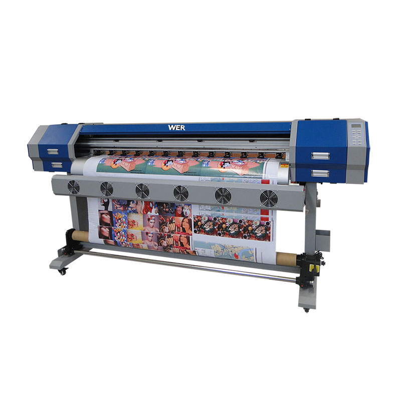 best price digital cotton textile printer with dx7 WER-EW160