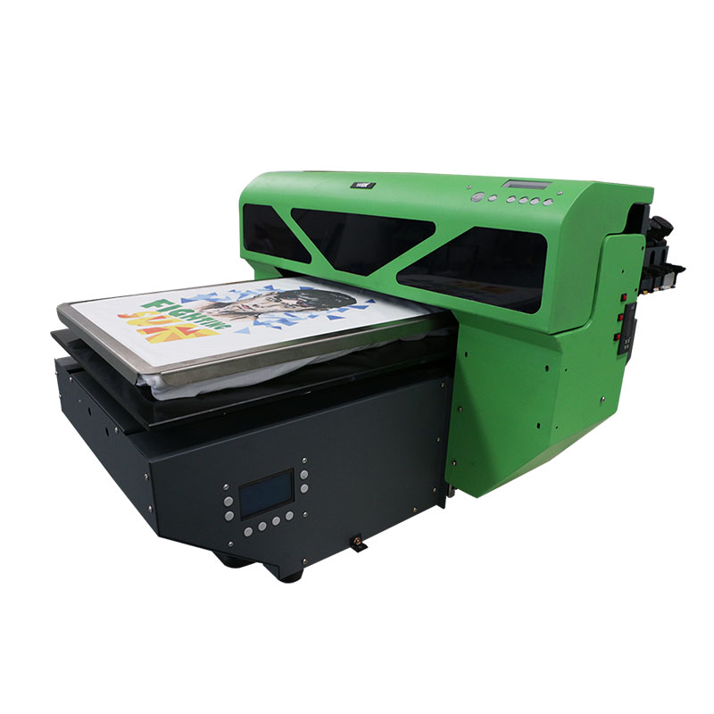cheap digital inkjet eco solvent T shirt printer for advertising WER-D4880T