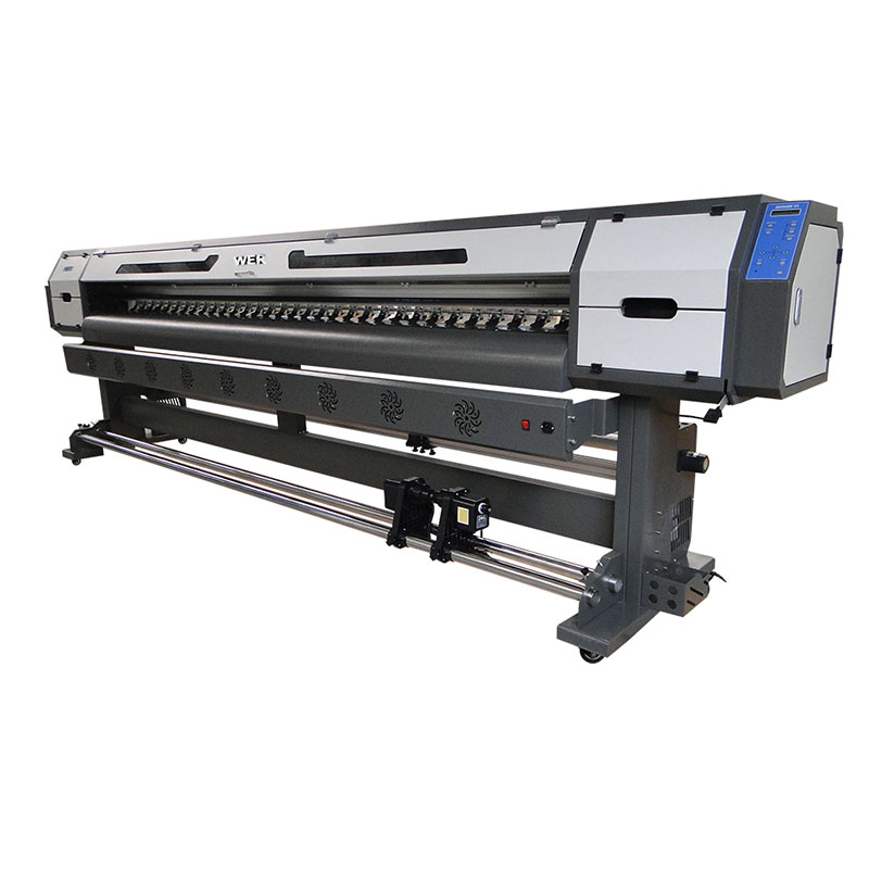 Goedkope prijs 3,2 M kledingstuk vinyl plotter Infinity grootformaat digitale inkjetprintmachine WER-ES3202