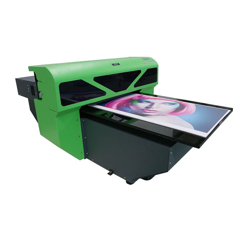 ucuz uv inkjet düzbucaqlı, A2 420 * 900mm, WER-D4880UV, mobil telefon halda printer