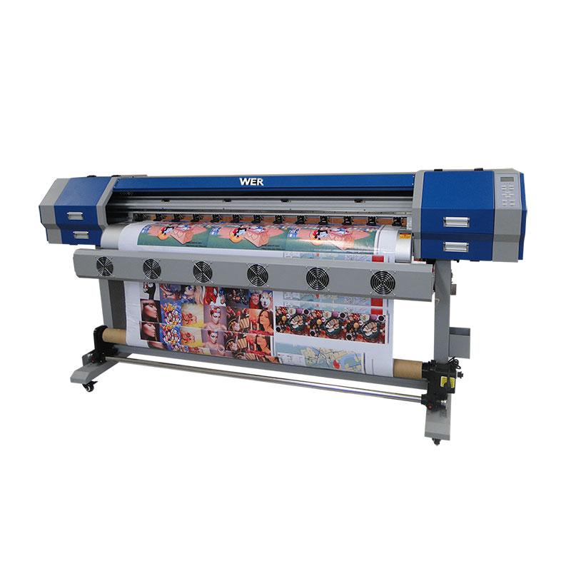 ψηφιακός κλωστοϋφαντουργικός εκτυπωτής e jet v22 v25 μηχανή εξάχνωσης με κεφαλή εκτύπωσης dx5 ή E5113 WER-EW160