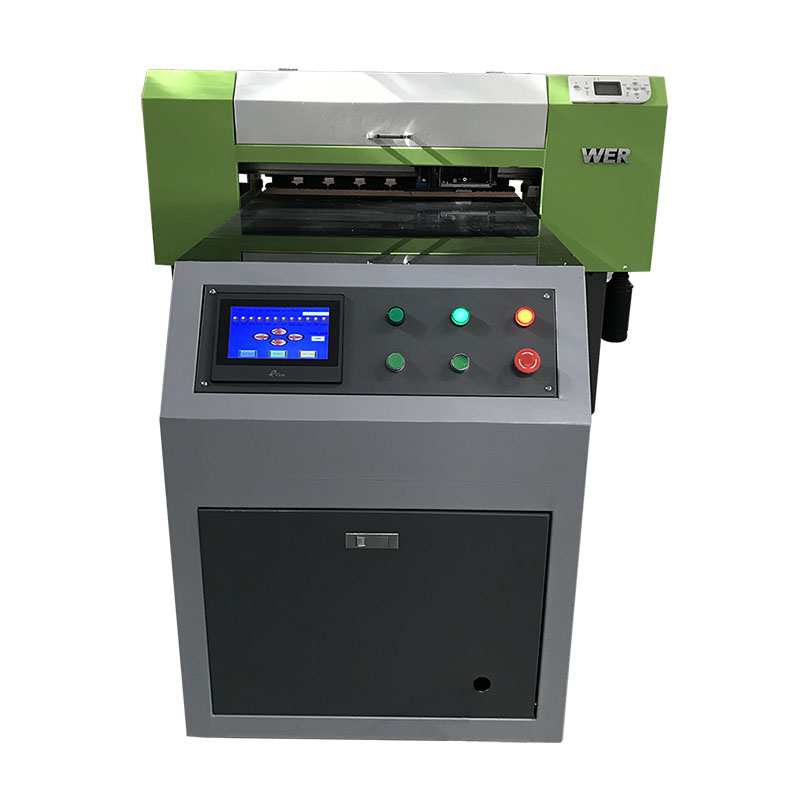 directe a la roba tèxtil tèxtil digital màquina d'impressió de tela Samarreta uv printer WER-ED6090T
