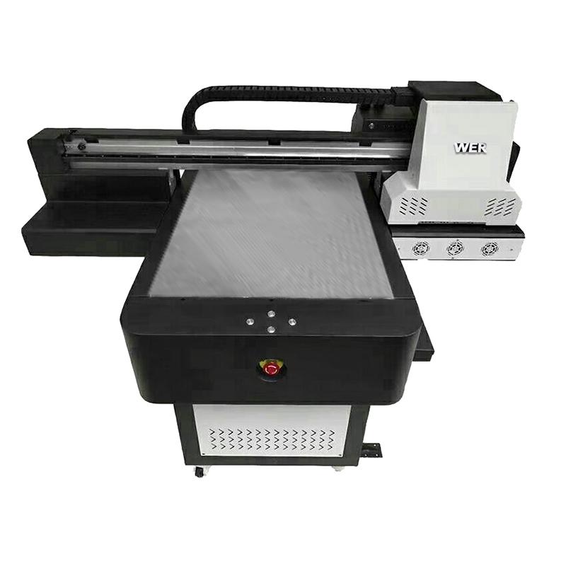 مصنع رخيصة الثمن الرقمية النسيج المسطحة تي شيرت مباشرة إلى طابعة الملابس WER-ED6090T
