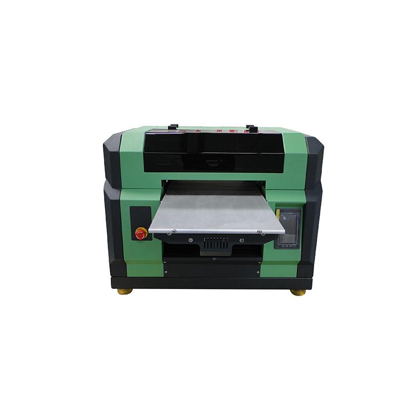 goede prijs voor a3 a4 flatbed WER-E2000UV uv led printer met dx5 kop 8 kleuren