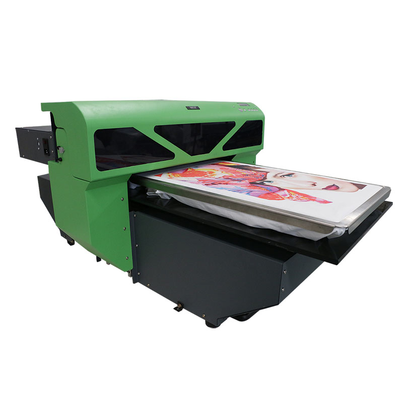 high quality inkjet printer a2 UV flatbed printer UV t-shirt printer WER-D4880T