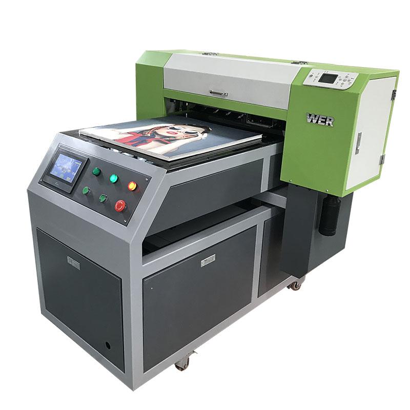 عالية الدقة A1 تي شيرت آلة الطباعة للملابس WER-ED6090T