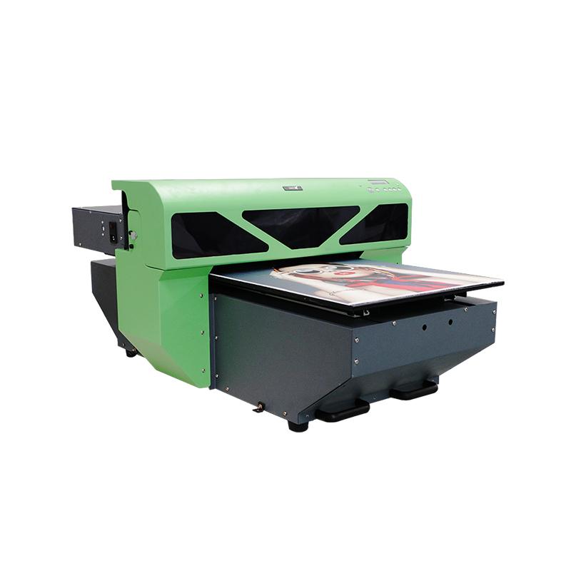 hochauflösende Drucker A2 Größe uv digitale mobile Abdeckung Druckmaschine WER-D4880UV