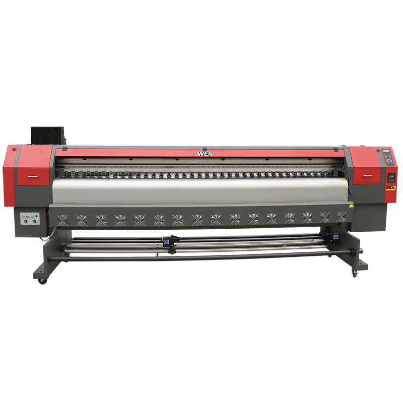 endüstriyel digital tekstil printer, rəqəmsal flatbed printer, rəqəmsal parça printer WER-ES3202