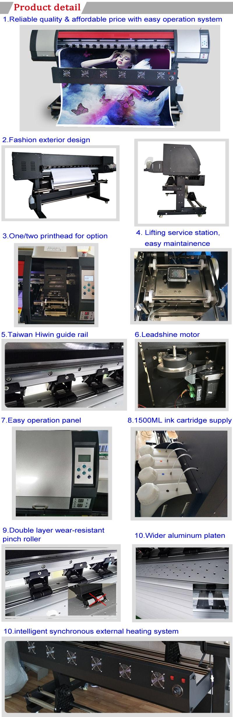 máquina de impresión de gran formato