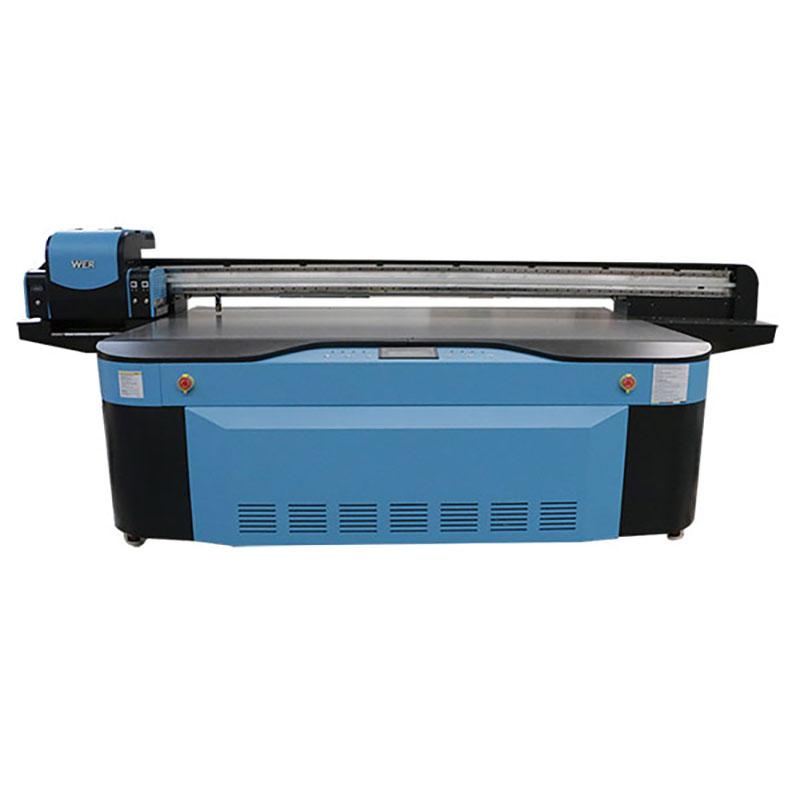 larger size DIY digital phone case printing machine varnish uv printer for china WER-G2513UV