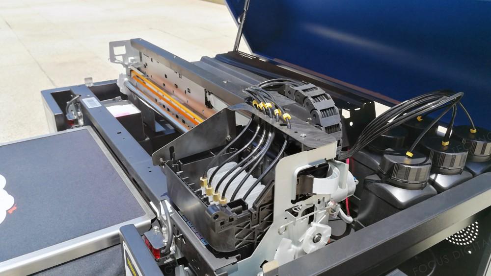 1. Strong machanical von a3 dtg drucker t-shirt druckmaschine tintenstrahldrucker machen durch verdicken aluminiumprofil zu gewährleisten die stabile arbeit mit t-shirt druckmaschine.